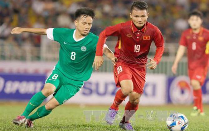 Vòng loại U23 châu Á 2018: Việt Nam có trận thắng thứ 2 liên tiếp