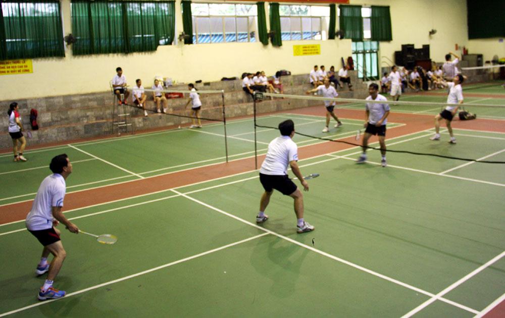 88 vận động viên tham gia Giải Cầu lông - Quần vợt cán bộ công đoàn lần thứ XI