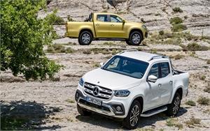 Mercedes-Benz chính thức tham gia phân khúc xe bán tải