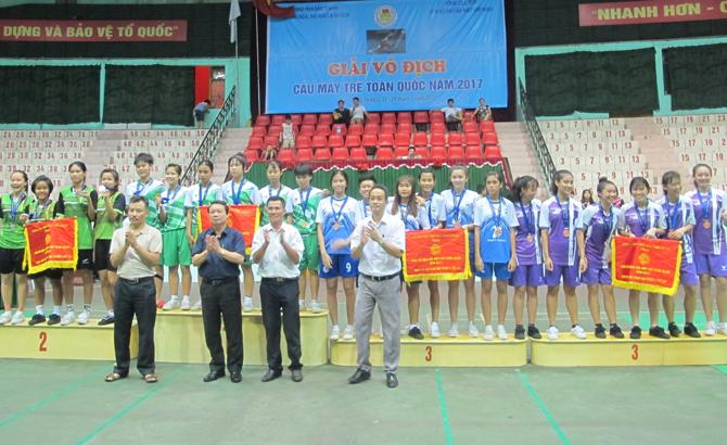 Bắc Giang: Bế mạc Giải vô địch Cầu mây trẻ toàn quốc năm 2017