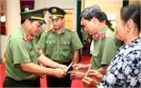 Gặp mặt thân nhân gia đình liệt sĩ, thương bệnh binh trong lực lượng Công an nhân dân