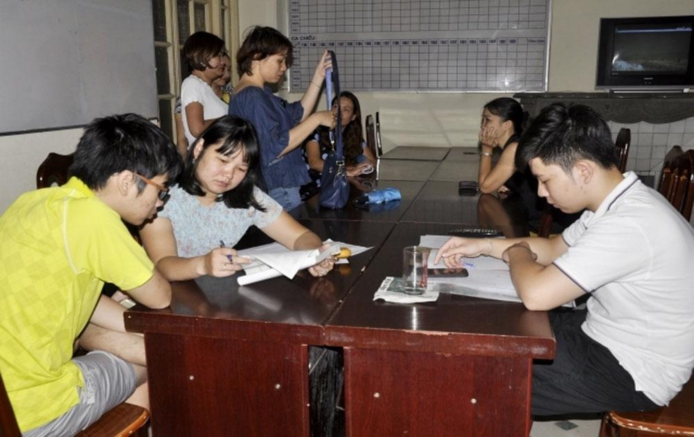 Phần lớn học sinh thay đổi nguyện vọng theo hình thức trực tuyến