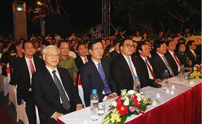 """Chương trình cầu truyền hình """"Dáng đứng Việt Nam"""""""