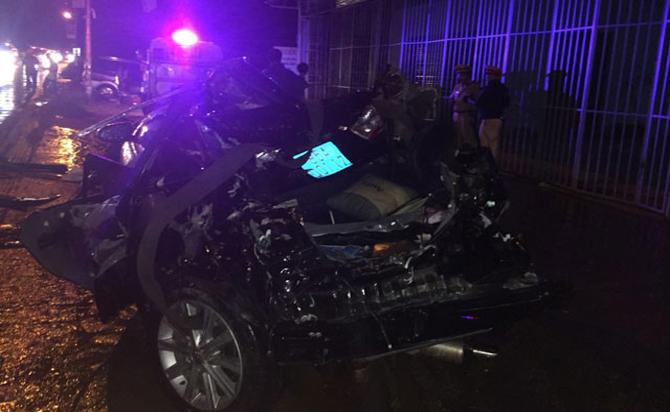 Hai sĩ quan Công an tử vong trong tai nạn nghiêm trọng tại Bình Thuận