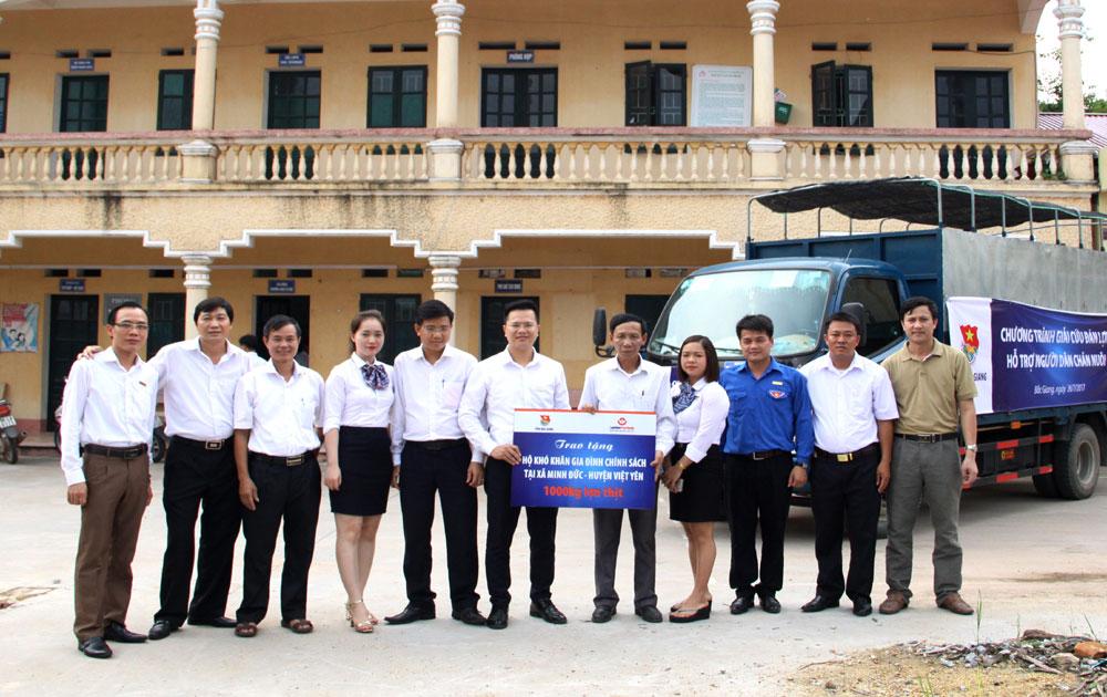 Ngân hàng Bưu điện Liên Việt - Chi nhánh Bắc Giang:  Tham gia giải cứu đàn lợn, hỗ trợ chăn nuôi