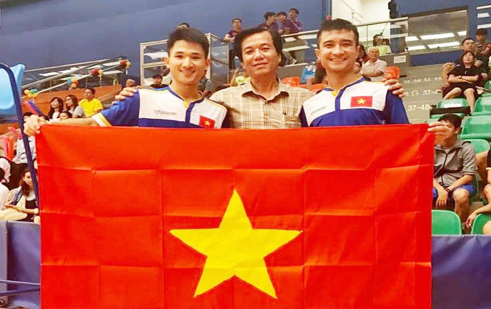 Vận động viên Bắc Giang lập công lớn tại Giải Vô địch đá cầu thế giới