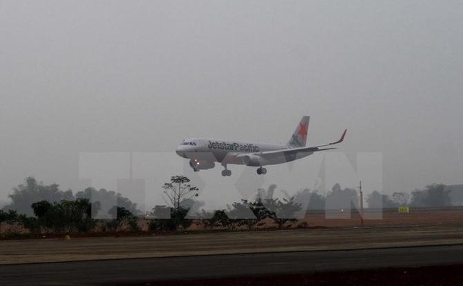 Khai trương đường bay Thanh Hóa - Bangkok tại sân bay Thọ Xuân