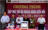 Agribank Bắc Giang tri ân khách hàng nhận kiều hối