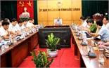 Chủ tịch UBND tỉnh Nguyễn Văn Linh: Đẩy nhanh tiến độ giải phóng mặt bằng các dự án trọng điểm
