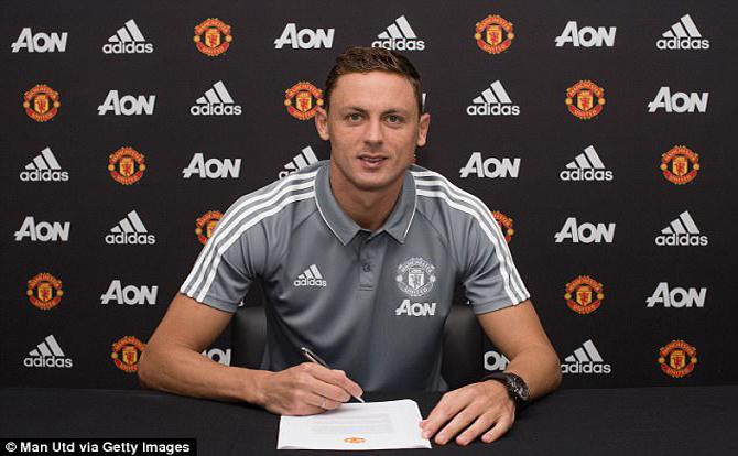 Nemanja Matic chính thức gia nhập CLB Manchester United