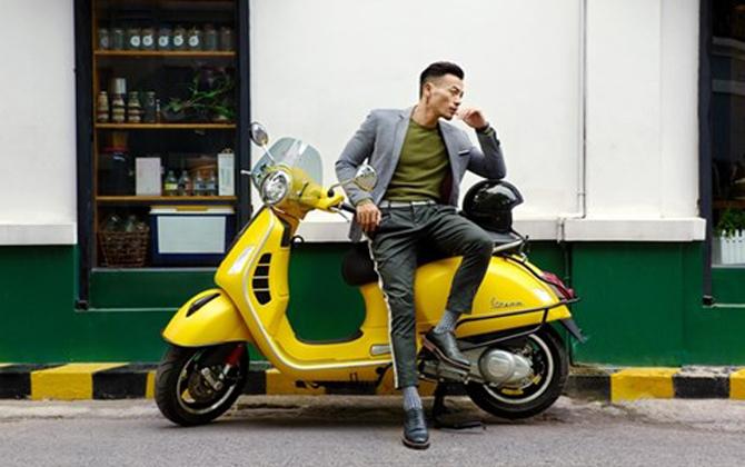 Xe scooter thể thao hàng đầu của vespa trở lại phiên bản mới