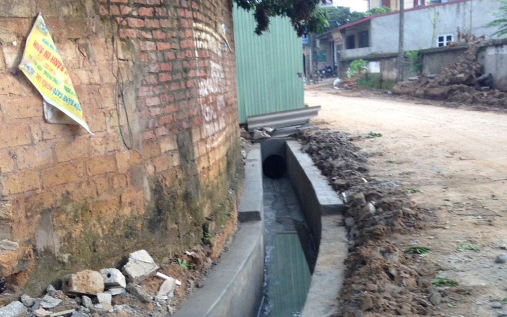Đã khắc phục ô nhiễm môi trường tại xã Lương Phong