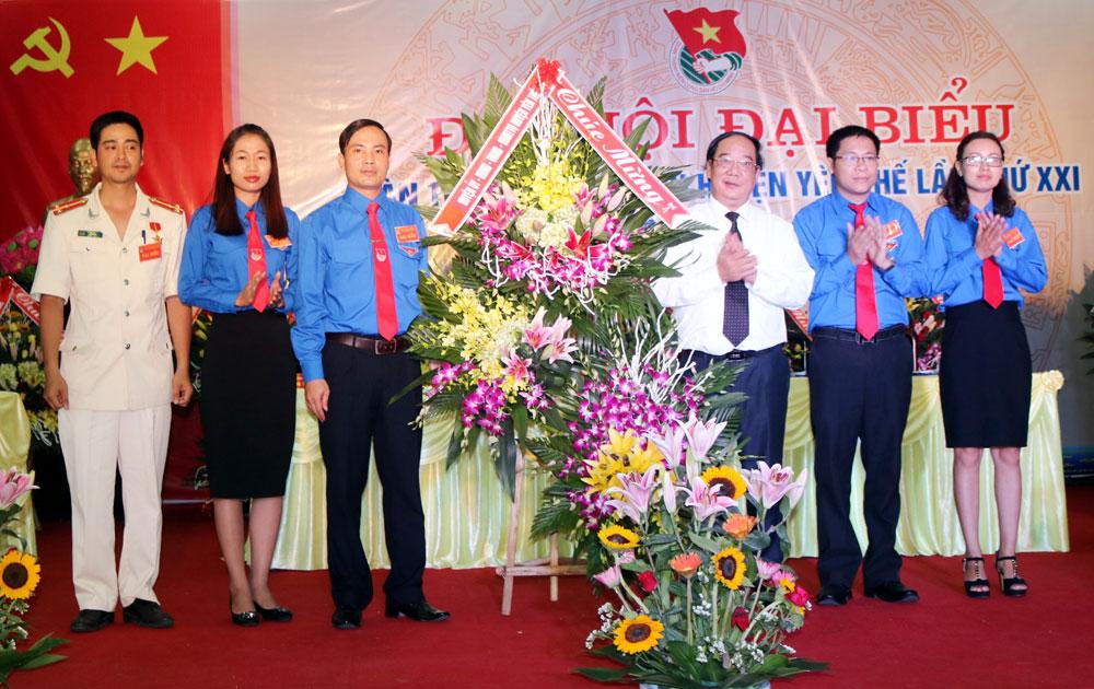 Đại hội đại biểu Đoàn TNCS Hồ Chí Minh huyện Yên Thế nhiệm kỳ 2017-2022
