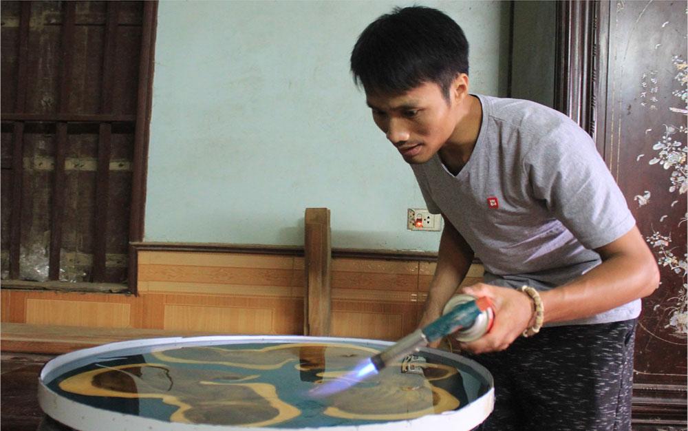 Độc đáo sản phẩm nghề mộc