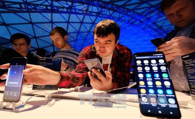 Điện thoại thông minh Samsung vững ngôi vương