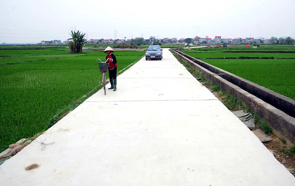 Việt Yên: 100% xã đạt tiêu chí thu nhập và hộ nghèo