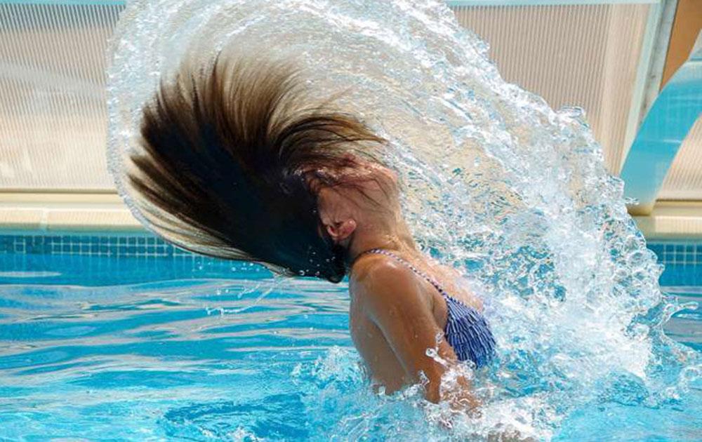 Ảnh hưởng của clo trong nước bể bơi tới sức khỏe
