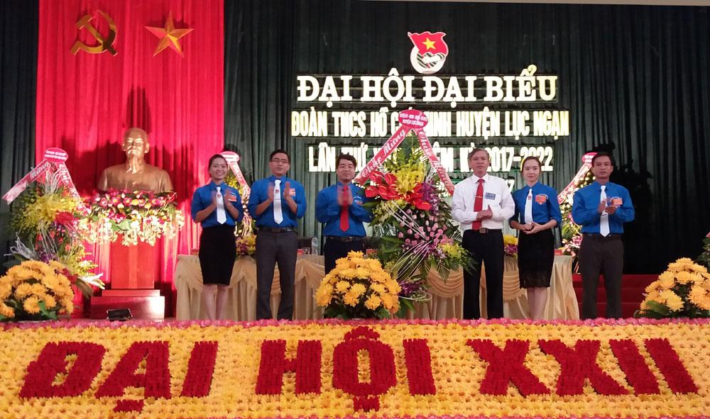 Đại hội Đoàn Thanh niên Cộng sản Hồ Chí Minh huyện Lục Ngạn thành công tốt đẹp