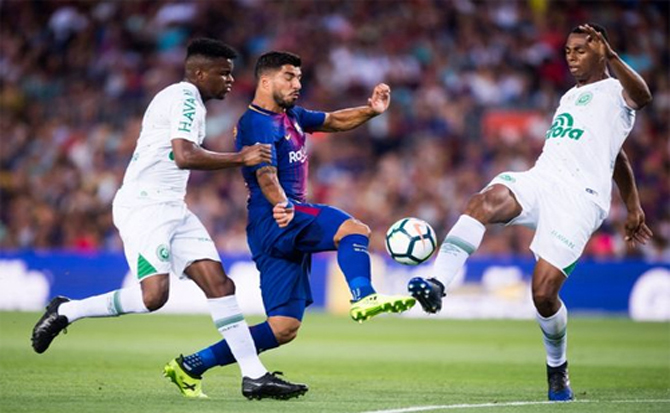 Barca đại thắng trận đầu tiên sau khi mất Neymar