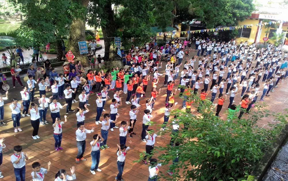 Tân Yên tổ chức Hội trại hè 2017