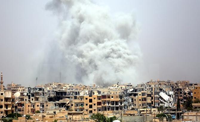 Quân đội Syria tiến sát thị trấn cuối cùng của IS ở Raqqa