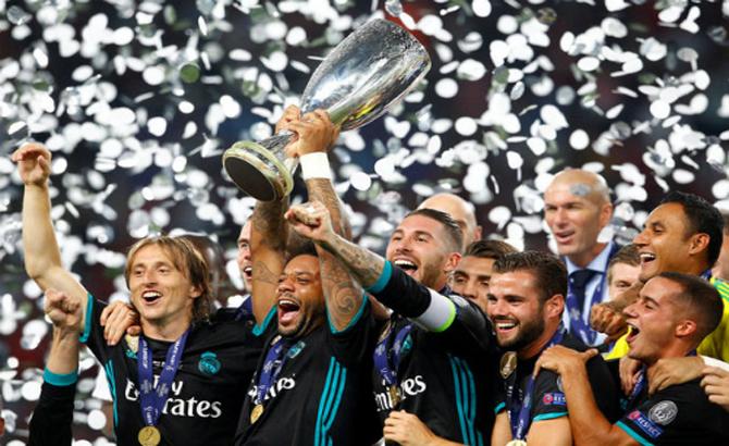 Real đánh bại Man Utd giành Siêu Cup châu Âu