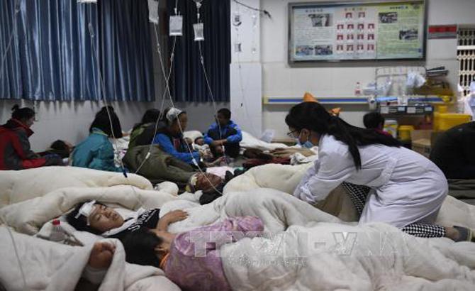 Trung Quốc: Số người thương vong tiếp tục tăng trong trận động đất tại Tứ Xuyên