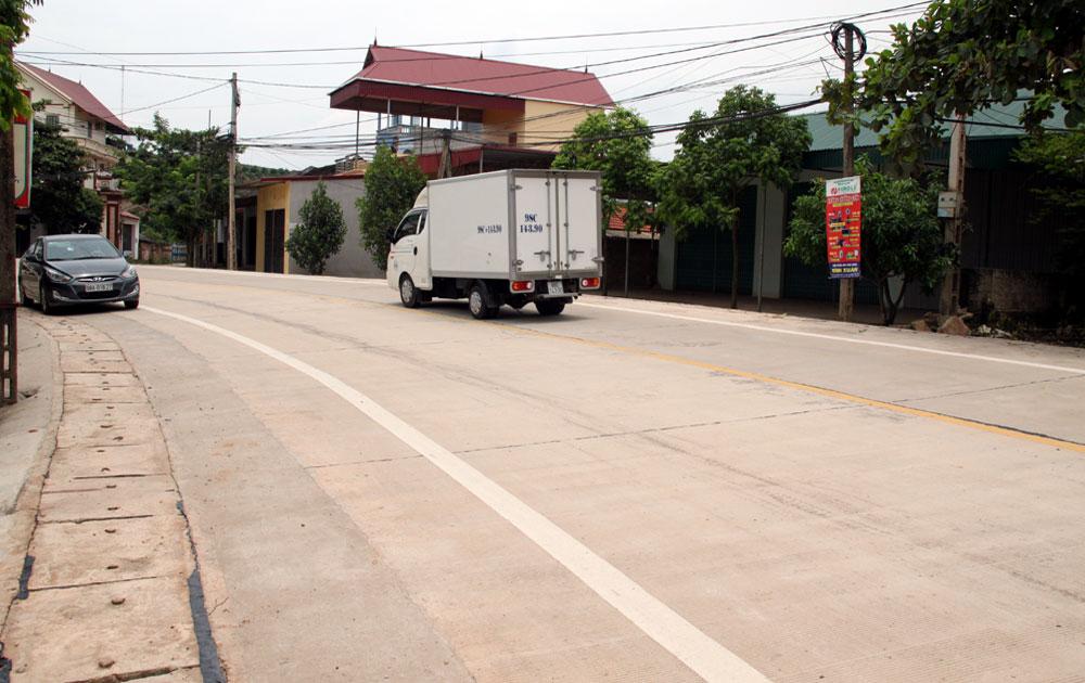 Bộ Tư lệnh Quân khu 1: Bàn giao đường 30 - 4 cho tỉnh Bắc Giang quản lý, khai thác