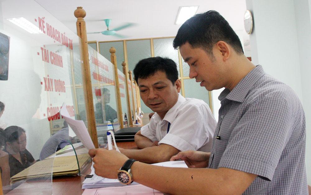 Kiểm tra công tác cải cách hành chính tại Sơn Động