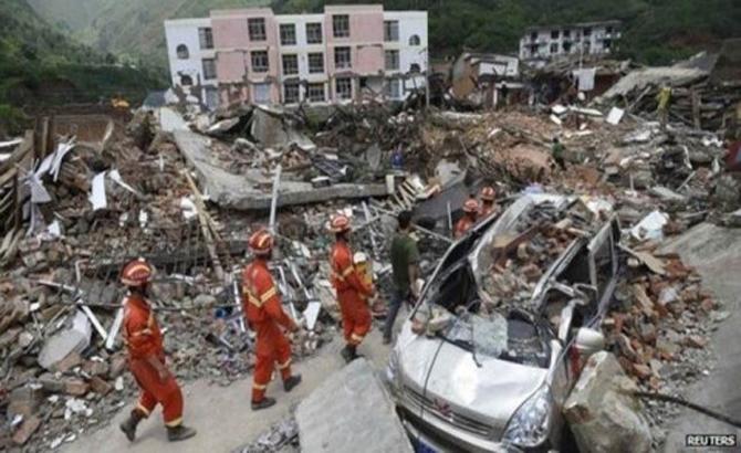 Động đất ở Trung Quốc: 20 người thiệt mạng, 431 người bị thương