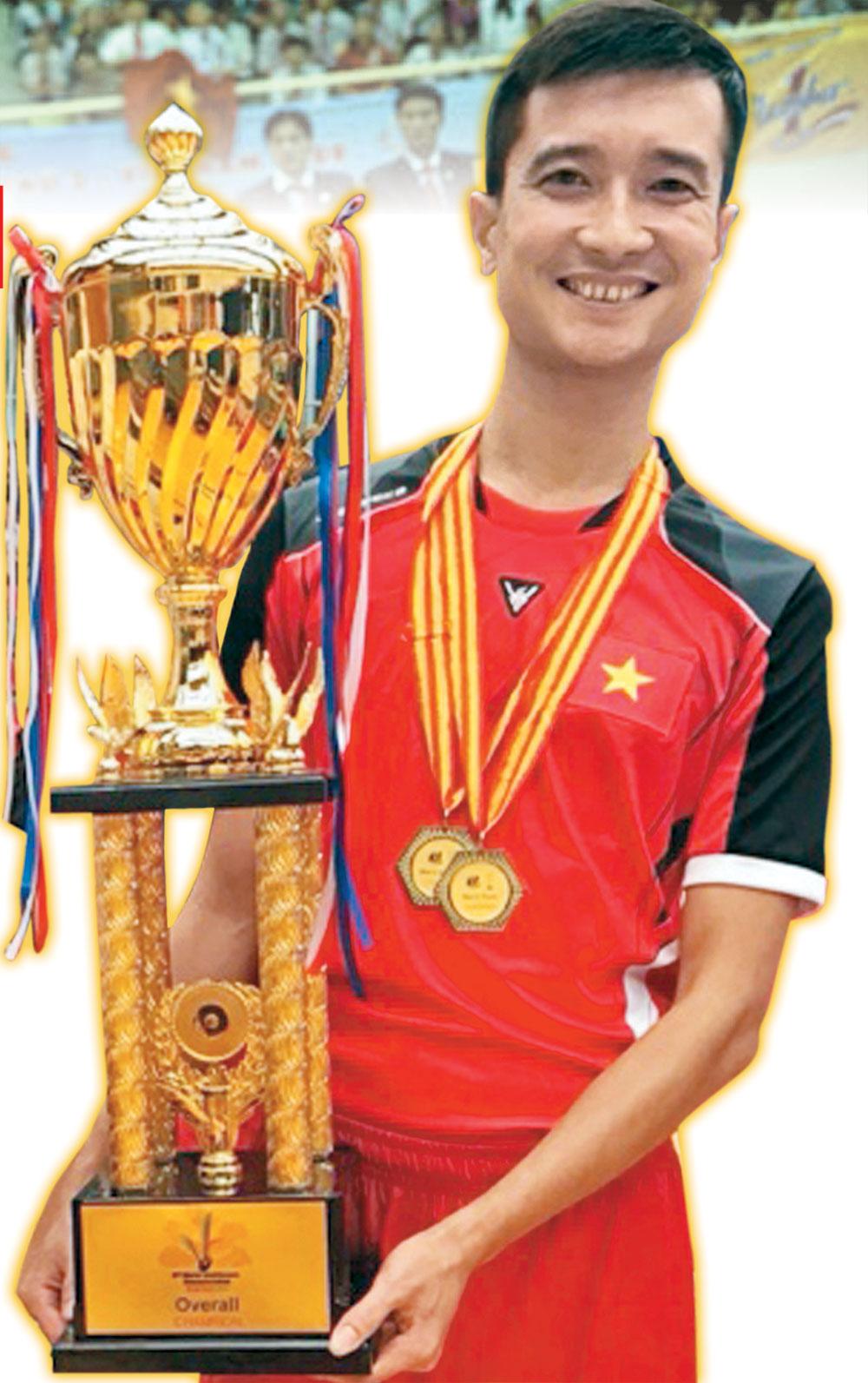 Kiện tướng,  Nguyễn Anh Tuấn, quả cầu vàng, Bắc Giang