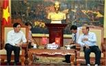 Chủ tịch UBND tỉnh Nguyễn Văn Linh tiếp Đại sứ nước CHND Trung Hoa tại Việt Nam