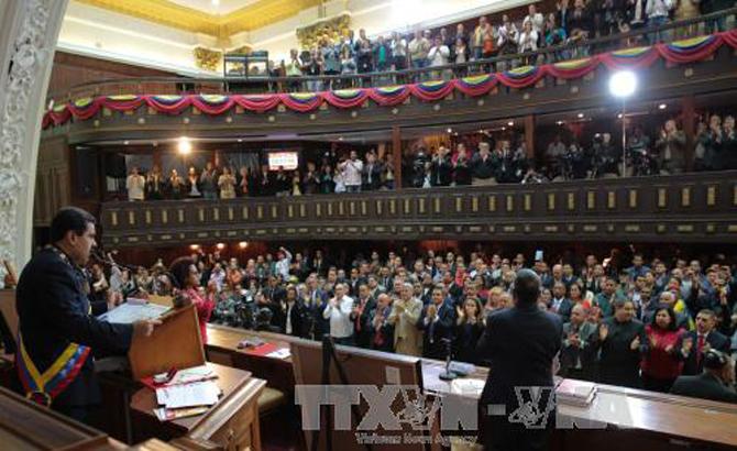 Tổng thống Venezuela tuyên bố sẵn sàng hàn gắn quan hệ với Mỹ