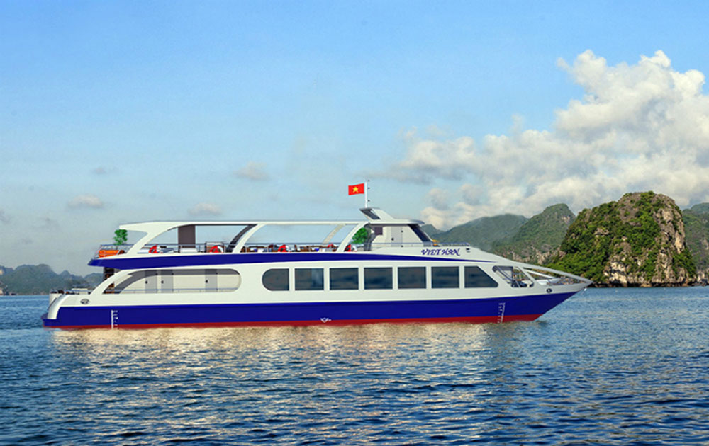 Take a look at the future of Ha Long Bay's cruise ships
