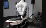 Honda bắt đầu thử nghiệm loại túi khí dành riêng cho xe máy