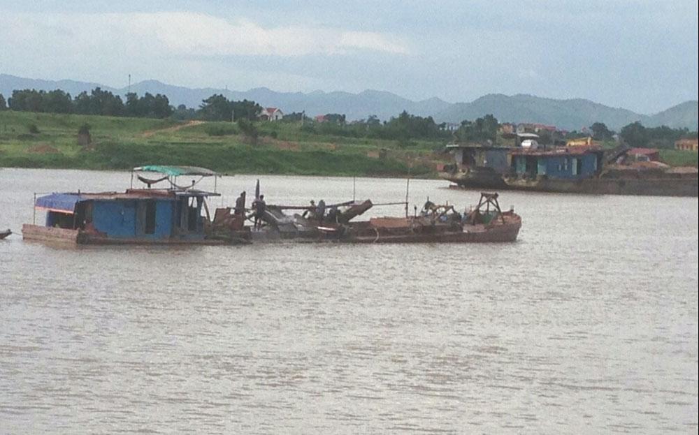 Khai thác cát sỏi, Bắc Giang, vi phạm, bất chấp lệnh cấm