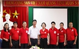 Bí thư Tỉnh ủy Bùi Văn Hải gặp mặt đoàn đại biểu dự Đại hội Hội Chữ thập đỏ Việt Nam