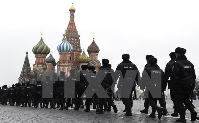 Nga bắt giữ nhóm khủng bố tấn công liều chết tại Moskva liên quan IS