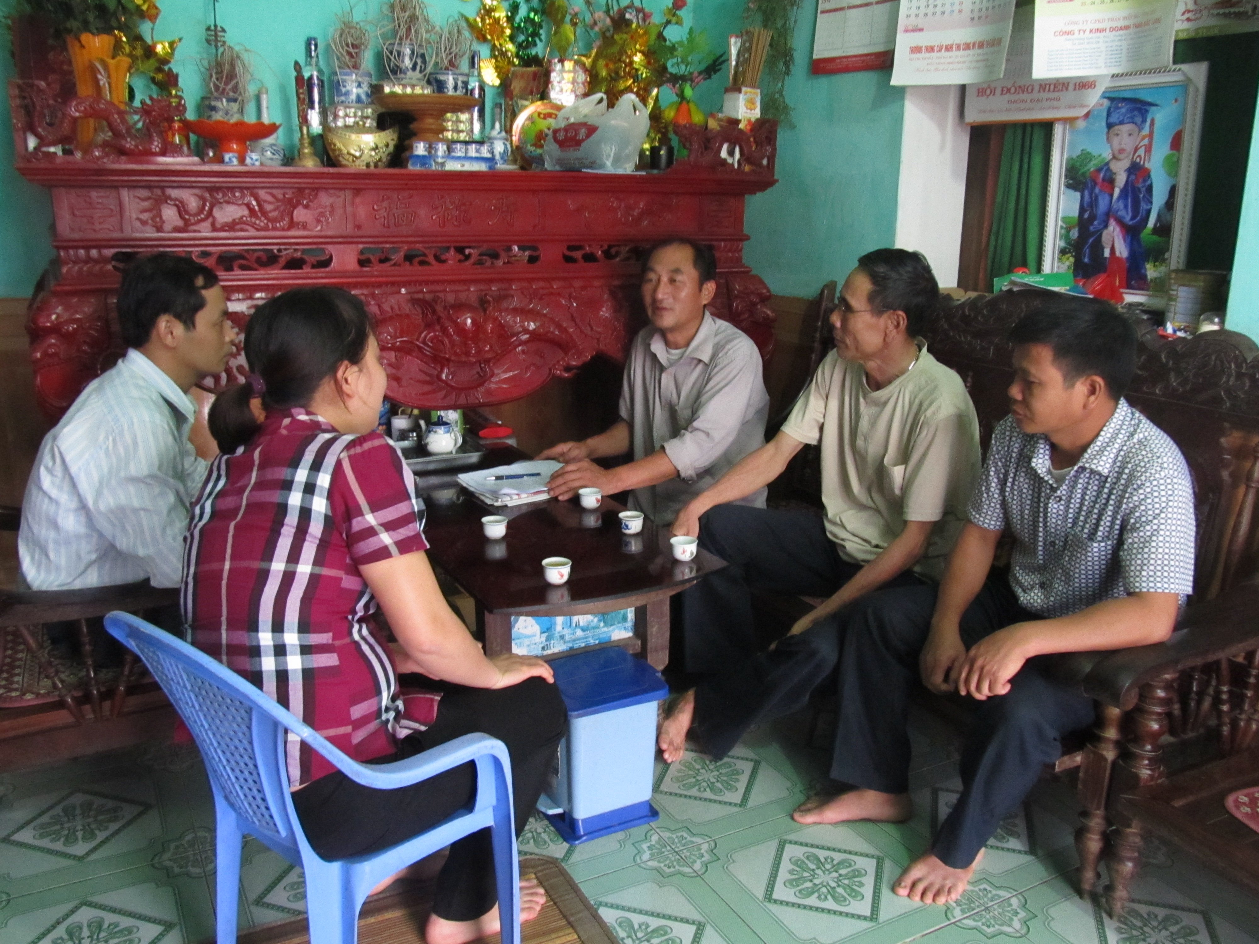 Lạng Giang hơn 95% số hộ tham gia tổ liên gia tự quản