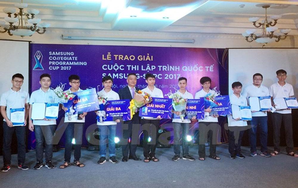 10 thí sinh Việt Nam sang Hàn Quốc thi lập trình quốc tế