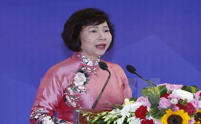 Bà Hồ Thị Kim Thoa bị miễn nhiệm chức Thứ trưởng Bộ Công thương