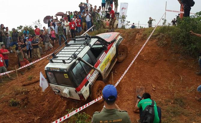 Giải đua xe địa hình Việt Nam 2017 khởi tranh vào ngày 9-9