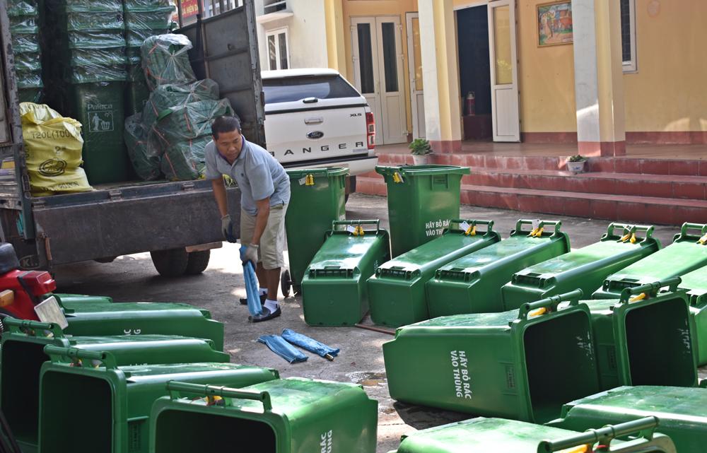 Tân Yên đầu tư 800 triệu đồng xử lý rác tại các điểm đen