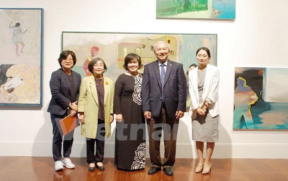 Art exhibition celebrates Vietnam – RoK ties