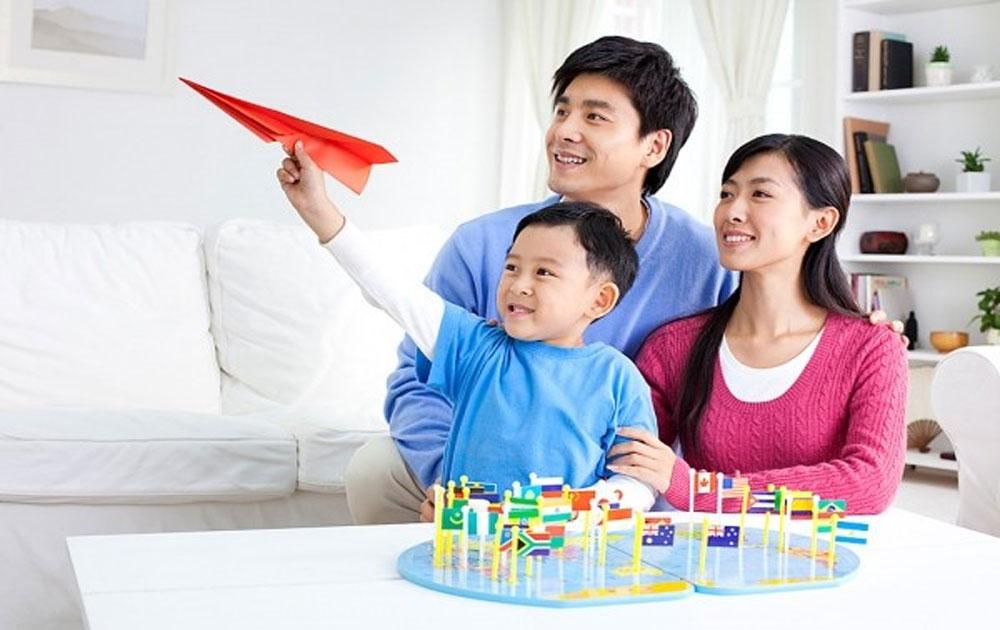 Cha mẹ giúp con trẻ phát triển về chỉ số EQ