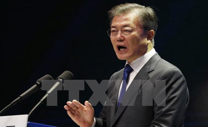 Tổng thống Hàn Quốc bác bỏ khả năng chiến tranh ở bán đảo Triều Tiên