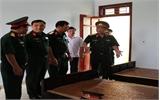 Tư lệnh Quân khu I thăm Ban Chỉ huy Quân sự huyện Việt Yên