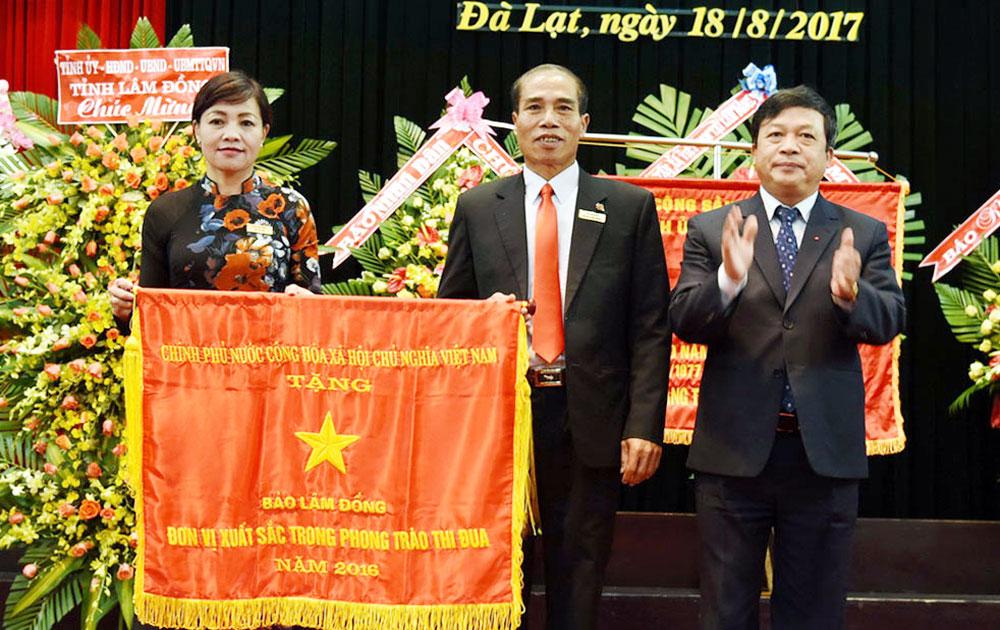 Báo Lâm Đồng, kỷ niệm, 40 năm, ra số báo đầu tiên