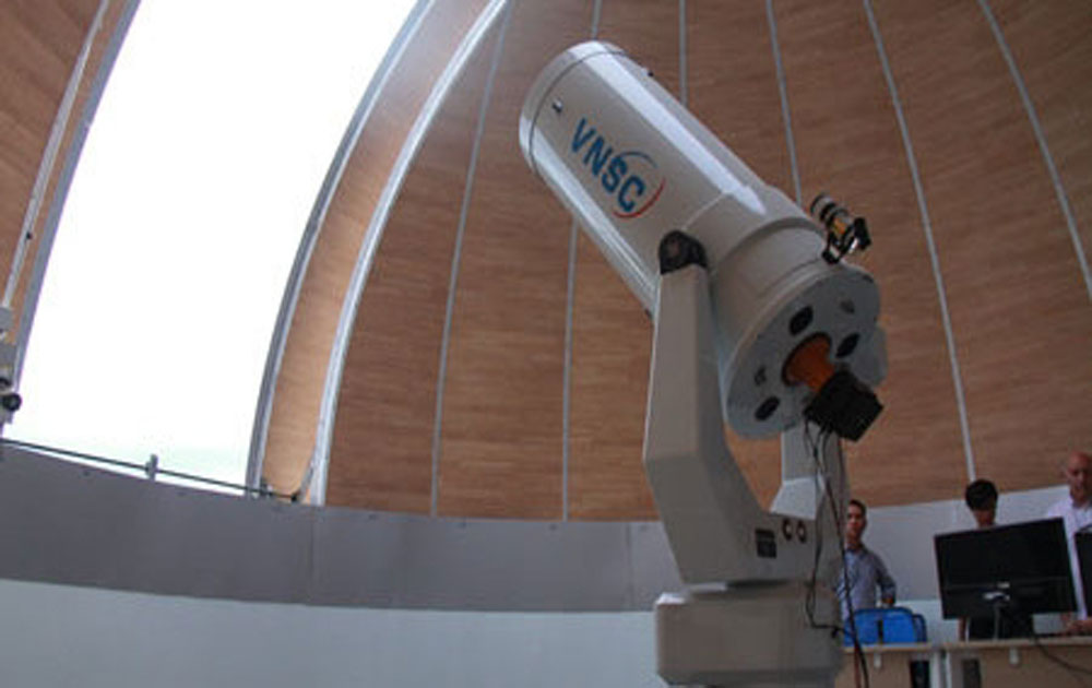 Vietnam's first astronomical observatory to open in September