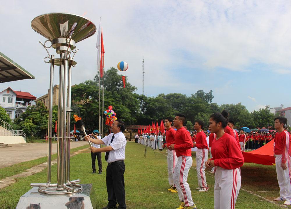 Yên Thế; Khai mạc Đại hội Thể dục thể thao lần thứ VIII